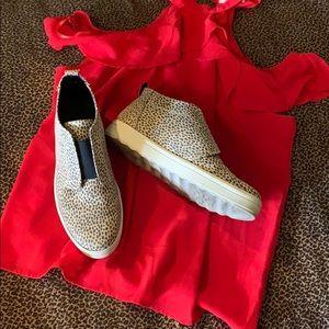 Shoes - Leopard slip on sneaker